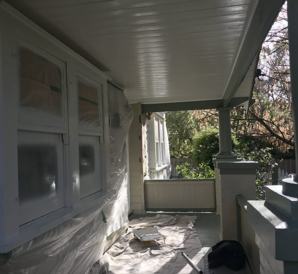 Extior house protection MJ Harris Painting