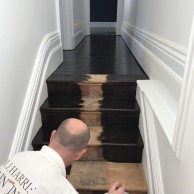 interior house prepartion staircase mj harris