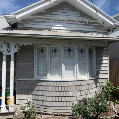 Newport Weatherboard Preparation