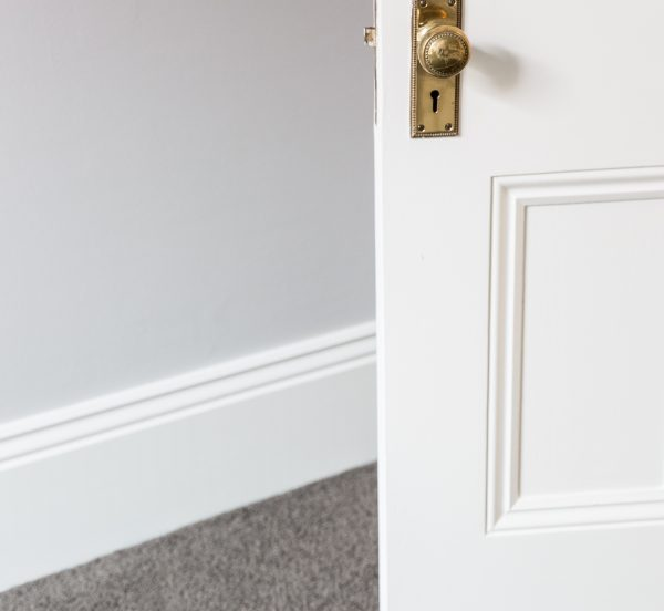 Interior Door Painting on Melbourne home