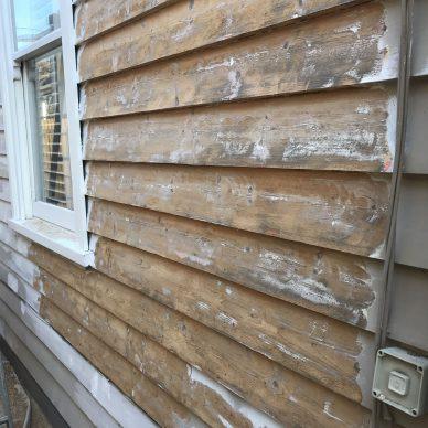 Weatherboard House Preparation MJ Harris Painting