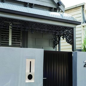 Painted Render Home in Richmond, Melbourne