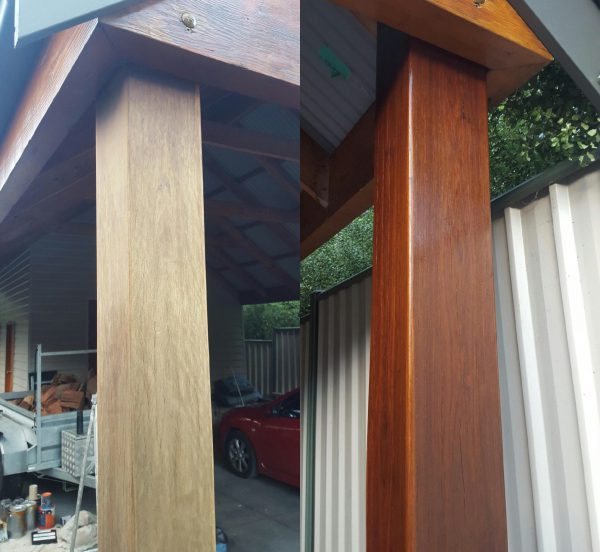Before & After on Cypress Post