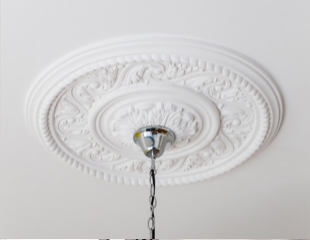 Ceiling Rose Painted in Richmond