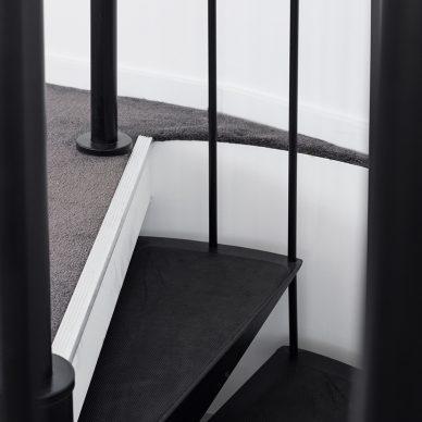 Black Matt Stair Case by MJ Harris