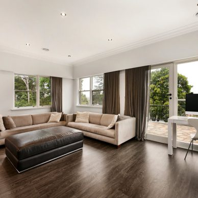 timber stained floors