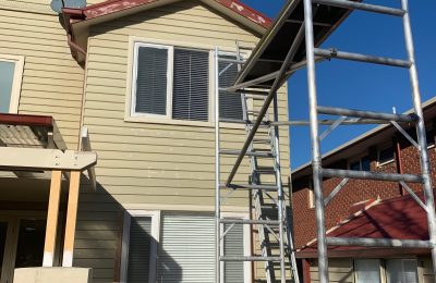 Mobile Scaffold at McKinnon home