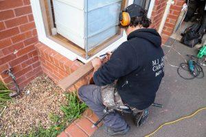 Wood Rot Repair by M.J. Harris Carpentry in Watsonia